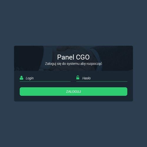CGO - aplikacja dedykowana